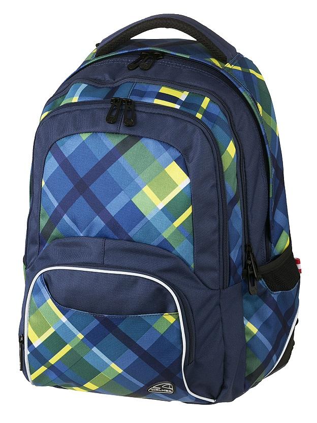 Studentský školní batoh Walker Switch Checker 564646b38a