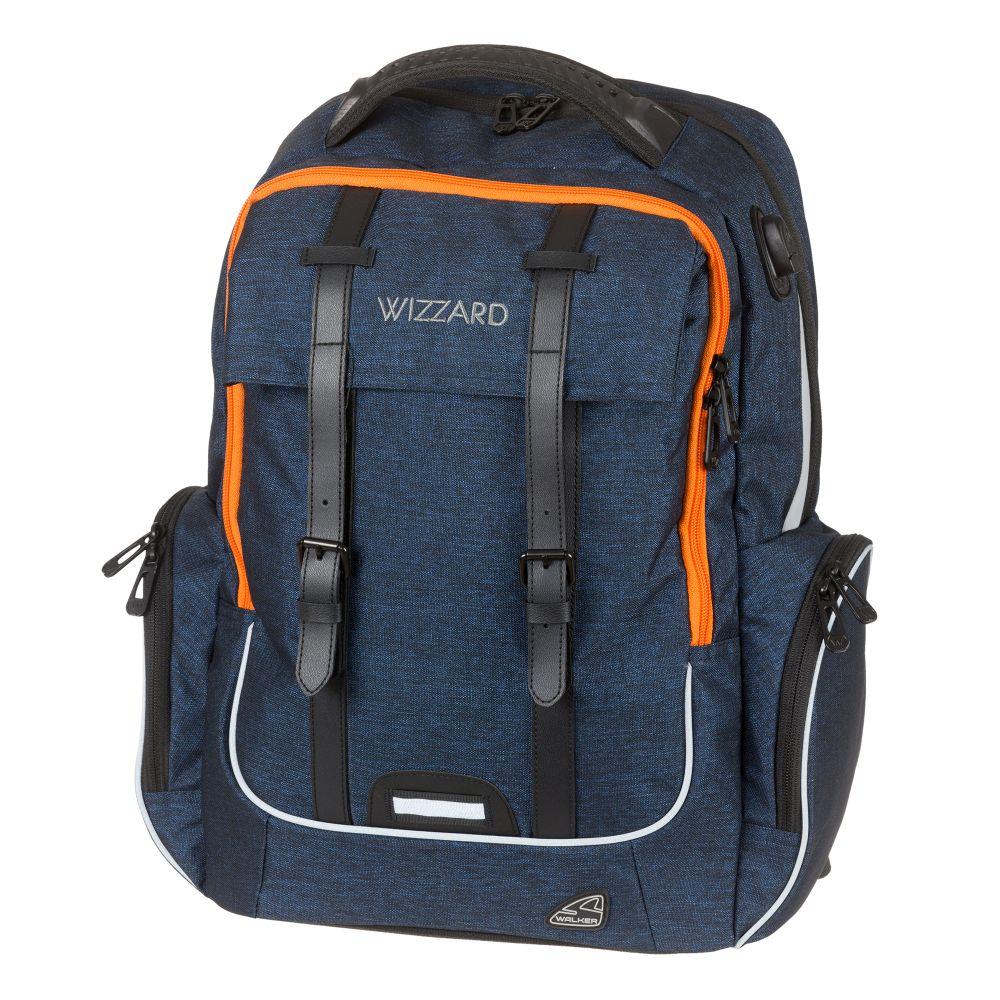 Školní batoh Walker Academy Wizzard Blue Melange acf9346f2a
