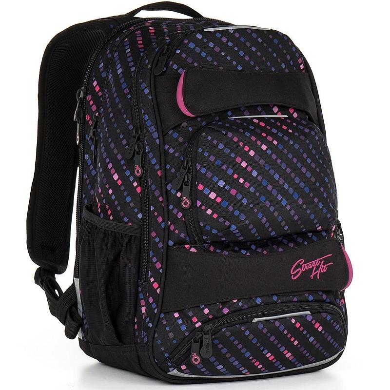 Studentský batoh Topgal HIT 884 - A Black 351369e532