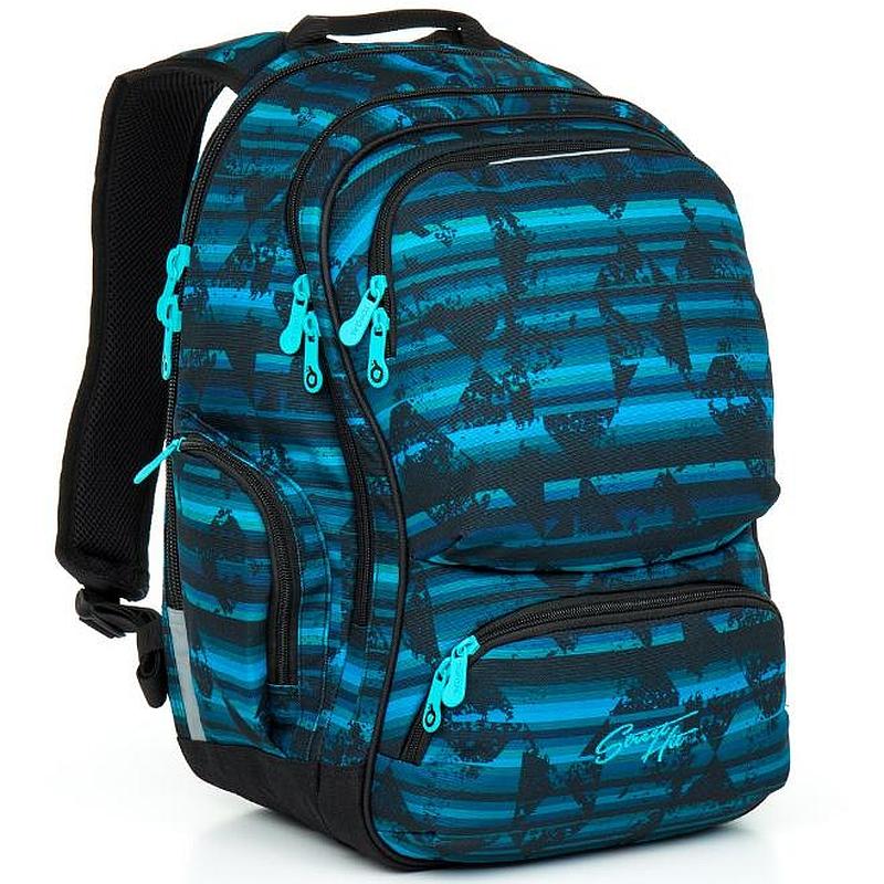 Studentský batoh Topgal HIT 864 - D Blue 6e54dfe9d0