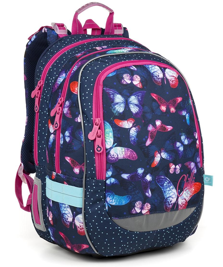 Školní batoh Topgal CODA 18045 G motýlci 83e11ba905