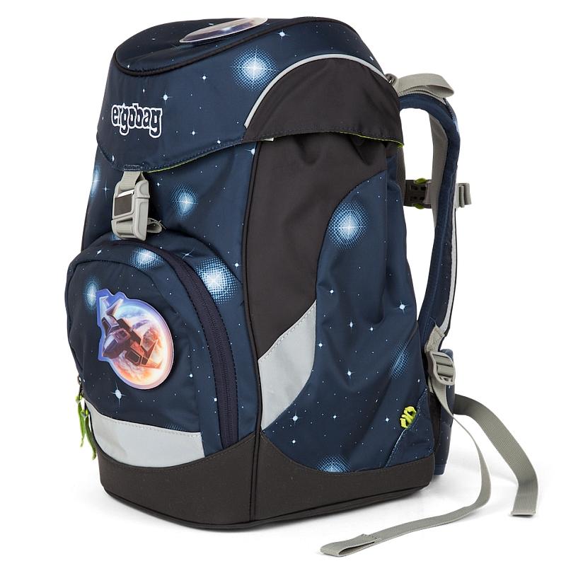 22d8cf2d599 Školní batoh Ergobag Prime modrý Galaxy