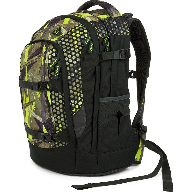 Studentský batoh Ergobag Satch Jungle Lazer