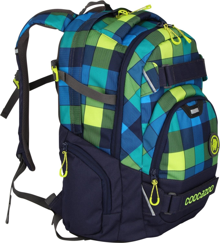 Školní batoh Coocazoo CarryLarry2 Lime District 10953997c9