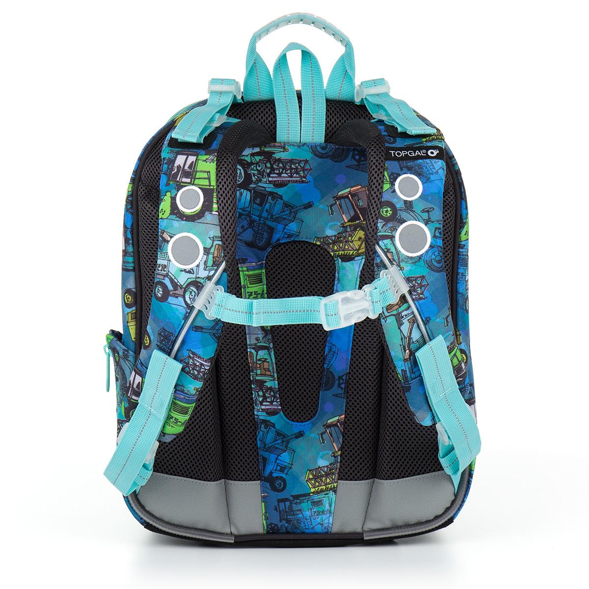 44ef78bcd93 Školní aktovka batoh Topgal CHI 885 D - Blue Kombajn