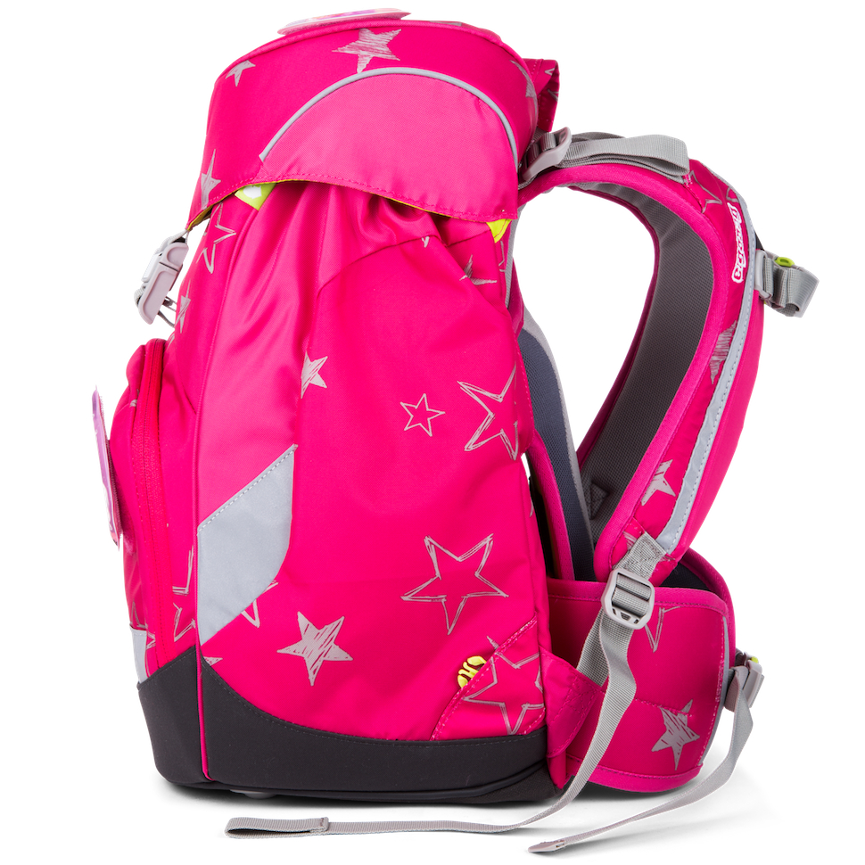 5a18efaedad Školní batoh Ergobag Prime růžový hvězdy