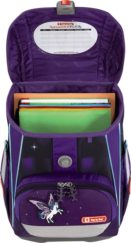 a830d037575 Školní aktovka batoh Pegas 2v1 pro prvňáčky 4-dílný set Step by Step