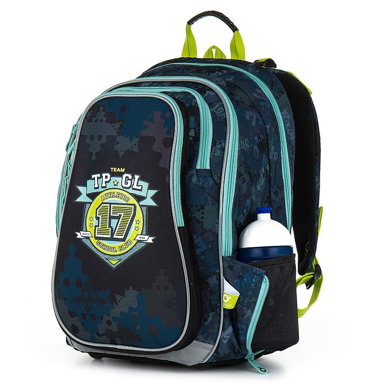 Školní batoh Topgal CHI 878 - D Blue pro kluky c159628ab5