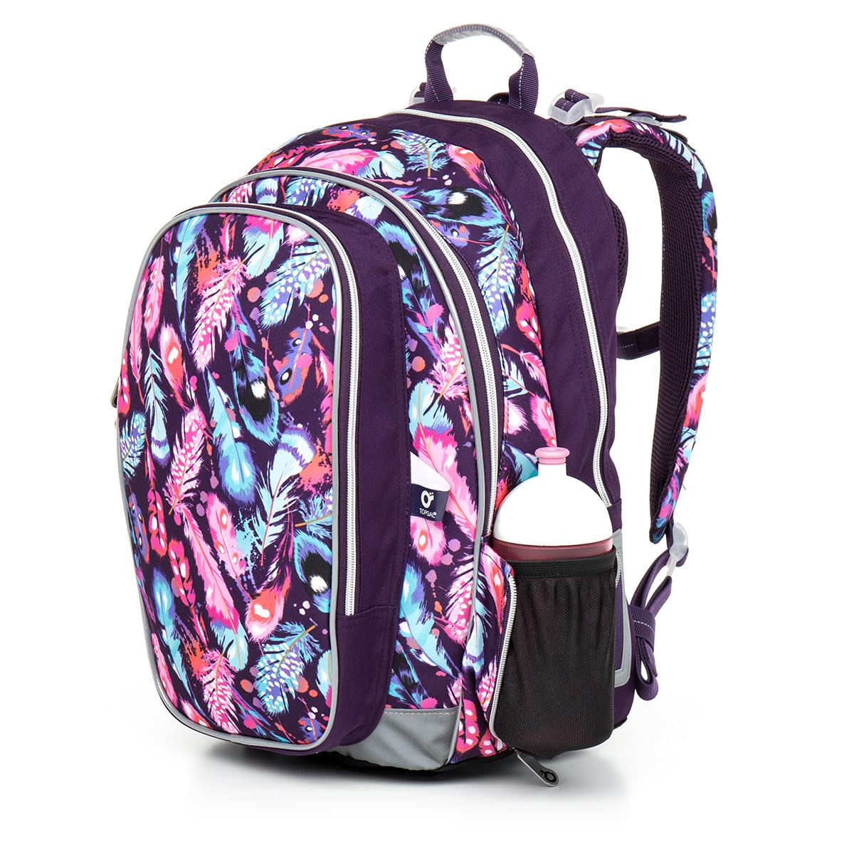d8f32e609d5 Školní batoh Topgal CHI 796 - H Pink Peříčka