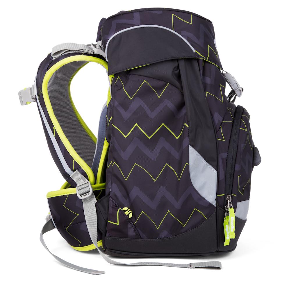 Školní batoh Ergobag Prime černý Zig Zag 7aa7072e65