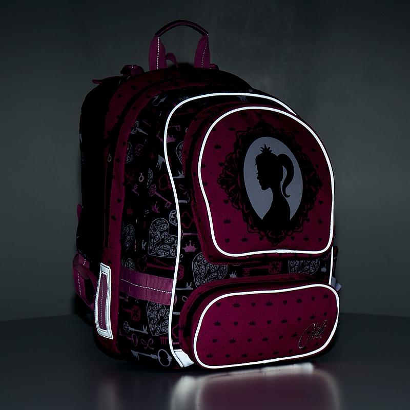 51dd83dbaee Školní batoh Topgal CHI 875 - H Pink Princezna