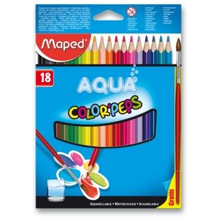 Školní akvarelové pastelky Maped 18 barev Color Peps Aqua 74b38f329f