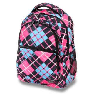 Studentský batoh Walker Classic Crazy checked