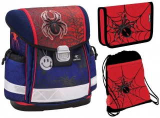 db178718c8a Novinka  Doprava ZDARMA. Školní aktovka Pavouk Spiders 3 dílný set Belmil